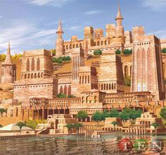 Holy Harem Batman! Theme Park in the Middle East?  Planned for Dubai and larger than Disney World .. Includes the Hanging Gardens of Babylon,Eiffel Tower etc ... Sounds like Vegas Lite