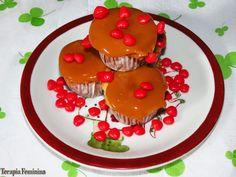 Terapia Feminina: Brincando de Amélia: Cupcake de churros.