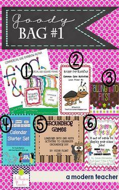 A Modern Teacher: Big Bloggy Birthday Bash | Goody Bag 1
