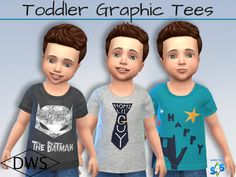 Sims 4 CC's - The Best: Toddlers Clothing by DreamWeaver Sims