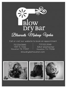Blow dry bar days of giveaways} Beauty Salon Decor, Beauty Bar, Blow Dry Bar, Design Seeds, Video Games For Kids, Easy Healthy Dinners, Mom Blogs, Kids Meals, Spa Brochure