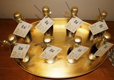 NYE Party Mini Champagne Favors. #DIY by Hosting & Toasting with BAC.