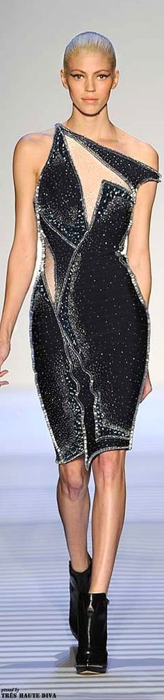 HERVE LEGER 2014 Spring - Summer. Dress - Fashion - Runway