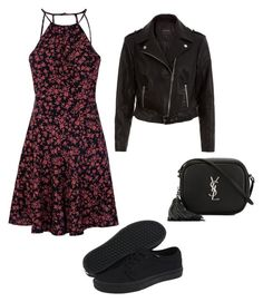 Untitled #153 by liveliveawkwardly6 on Polyvore featuring polyvore, fashion, style, Glamorous, Vans, Yves Saint Laurent and clothing