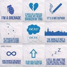 The fault in our stars quotes.