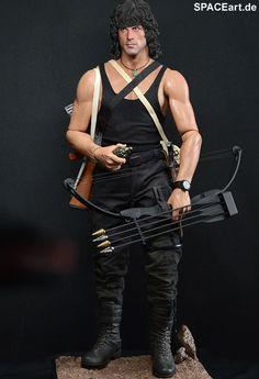 Rambo 3: John Rambo - HD Deluxe Figur