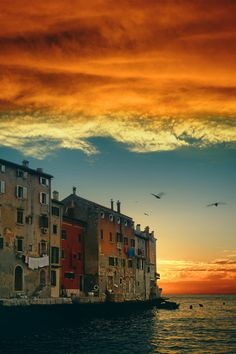 Sunset at Rovinj, Croatia