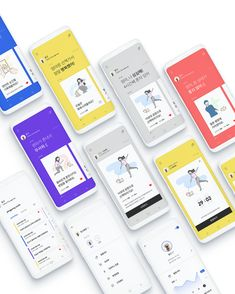 Pingpong is a pet communication service that helps to understand each other and become a real family. It is composed of a smart clip that recognise feelings of dogs, and app service that suggest feelings and activities that communicate with them. Web Design, App Ui Design, Flat Design, Site Design, Mobile Mockup, Mobile App Ui, Mobile Web, Design Thinking, App Store