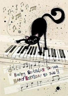 Photo Happy Birthday Wishes Happy Birthday Quotes Happy Birthday Messages From Birthday Happy Birthday Pictures, Happy Birthday Messages, Happy Birthday Quotes, Happy Birthday Greetings, Birthday Fun, Birthday Cats, Happy Birthday For Man, Cat Birthday Wishes, Happy Birthday Music