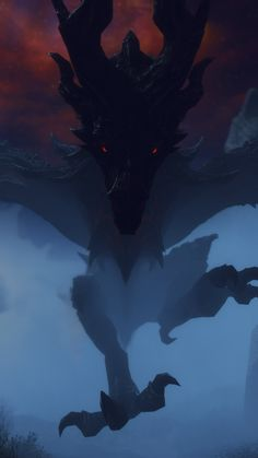 🌜🐉mother of dragons🐉🌛 Mythical Creatures Art, Fantasy Creatures, Dragon Rider, Dragon Age, Fantasy World, Fantasy Art, Shadow Dragon, Elder Scrolls Skyrim, Dragon Sketch