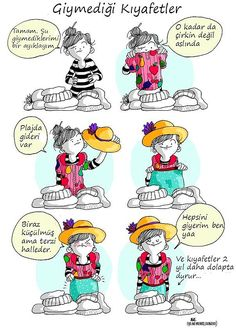 A Girl's Life Presented By 20 Funny Comics Funny Cute, Hilarious, Spanish Humor, Funny Times, Humor Grafico, Illustrations, Girls Life, Bored Panda, Story Of My Life