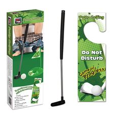 perfect for a white elephant gift Potty Golfing Set