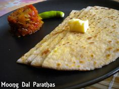 Today's Special- Moong Dal Paratha ! Delicious hot moong dal parathas are ready to eat with a raita and pickle at Cafe Dlite!  Contact No: 02226865087 / 9323877002