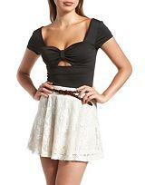 Tops: Charlotte Russe