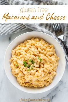 Easy Gluten Free Macaroni and Cheese that's ready as soon as the gluten free pasta is done cooking. This gluten free mac and cheese recipe uses minimal ingredients and only requires a few simple steps. Gluten-free, nut-free, and egg-free. Gluten Free Macaroni And Cheese Recipe, Mac And Cheese Sauce, Spicy Mac And Cheese, Gluten Free Chicken, Easy Gluten Free Desserts, Gluten Free Sides Dishes, Gluten Free Dinner, Side Dish Recipes, Side Dishes