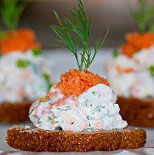 skagen salad #löjrom :#skagensalad #julbord #swedishchristmas #danischristmas #godjul #jul #nordicjul