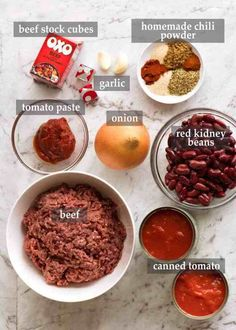 Quinoa Chili, Slow Cooker Chili, Best Chili Recipe, Chili Recipes, Recipe Recipe, Mexican Recipes, Con Carne Recipe, Homemade Chili, Homemade Chilli Con Carne