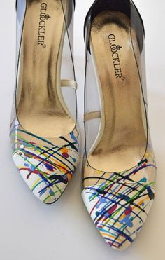 "Saatchi Art Artist Astrid Stoeppel; Sculpture, ""Colorful Highheels!"" #art"