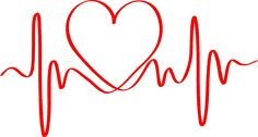 Heartbeat of Love ECG Wave **Cynthia & Audrey** Tattoo Designs Tumblr, Heart Tattoo Designs, Body Art Tattoos, Tatoos, Love Heart Tattoo, In A Heartbeat, Doodle Art, Tatting, Coloring Pages