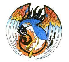 SciFi and Fantasy Art feng-huang by Inge ´Inora´ van den Broek