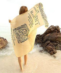 Lenços estampados com capa de livros - marca: Fresh Comfy; Romeu e Julieta
