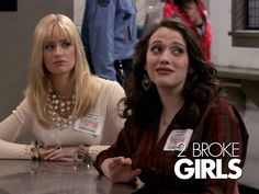 2 Broke Girls - 2nd only to Modern Family for comedy!  These girls know how to deliver the lines.