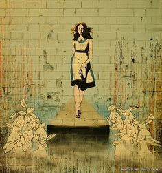 """ALICE"" By: Banksy"
