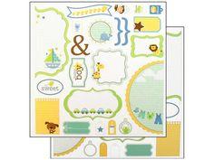Doodlebug Cute Cuts Die Cut Snips & Snails - cardstock precortados. 1 plancha doble faz. Ideal para scrapbook - tarjeteria y regalos Se vende el contenido de la plancha en bolsita.  PRECIO: 26 Pesos Argentinos