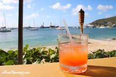 Jack's Bar, Bequia - great beach bar in St. Vincent and the Grenadines to relax, order a cold one and check out the beautiful view of Admiralty Bay!