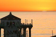 Special Manhattan Beach Sunset