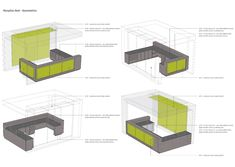 Modern Reception desk plan with large furniture and mainboard - Your Home Design (shared via SlingPic) Reception Counter Design, Hotel Reception Desk, Modern Reception Desk, Hospital Reception, Desk Layout, Clinic Design, Desk Plans, Hotel Decor, Library Design