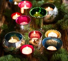 north carolina interior designer kathryn greeley of asheville western north carolina presents holiday votives for holiday decor and entertaining