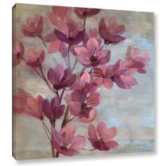 ArtWall Silvia Vassileva's April Blooms II Gallery Wrapped