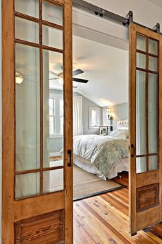 20 Fabulous Sliding Barn Door Ideas sun room living room addition