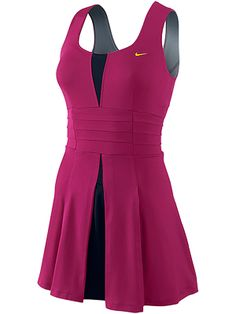 I think I may start playing tennis competitively.just so I could justify getting this tennis dress Nike Tennis Dress, Tennis Wear, Tennis Skirts, Tennis Clothes, Tennis Fashion, Sport Fashion, Nike Dresses, Golf Outfit, Sport Outfits