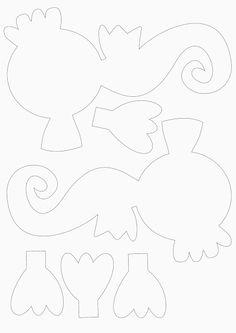 Fräulein Hase: Glitzerndes Seepferdchen
