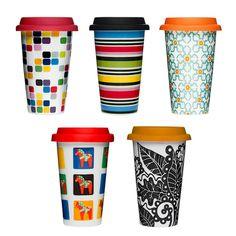 Sagaform Porcelain Take Away Coffee Mug
