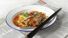 Malaysian laksa recipe: Asam Laksa
