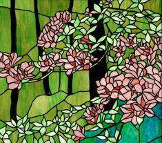 Tashiro Stained Glass  Wild azalia