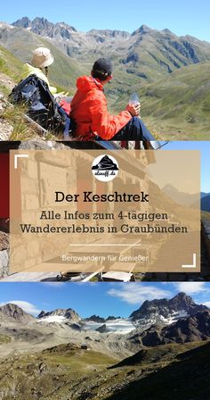 The Keschtrek in Graubünden - All huts and stages # hut hiking Outdoor Reisen, Whitewater Kayaking, Canoeing, Reisen In Europa, Ice Climbing, Backpacking Tips, Wanderlust Travel, Hiking Trails, Outdoor Camping