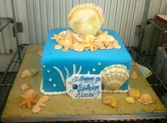 Beach Cake  -  Carlos Bakery