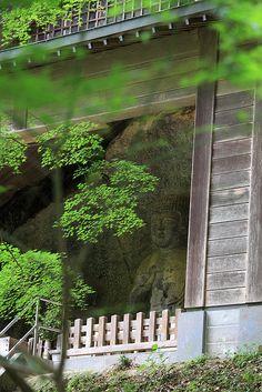 Usuki Stone Buddhas  #japan #oita