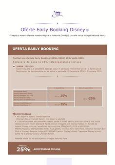 Oferte Early Booking Disney 😍 Fii rapid si rezerva ofertele noastre magice la hotelurile Disney! www.mara-boutique.ro