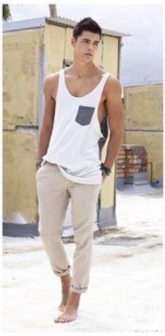 a107a5a6c7702 32 Best Men s Tank Tops  I Think Yes! images