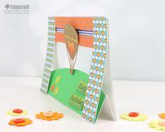 Dovecraft morre Penny Spinner Cartão Tutorial com Template Printable livre…