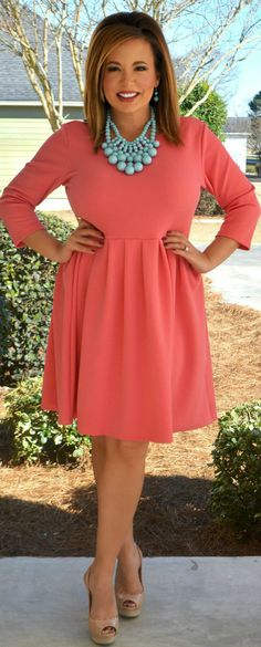 Perfectly Priscilla Boutique - Heart On My Sleeve Dress, $43.00 (http://www.perfectlypriscilla.com/heart-on-my-sleeve-dress/)