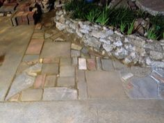 My eclectic pavers