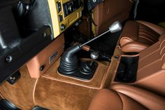 British craftsmanship... simply amazing attention to detail on the interior of Charles Fawcett's (the mastermind behind Twisted Performance) personal vehicle.