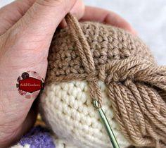 Risultati immagini per molly dolly crochet