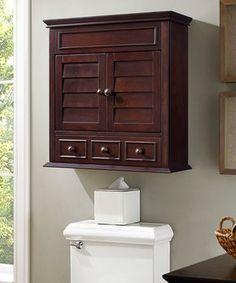 Espresso Lydia Wall Cabinet. Bathroom ...